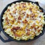 Chicken Bacon Pasta Bake
