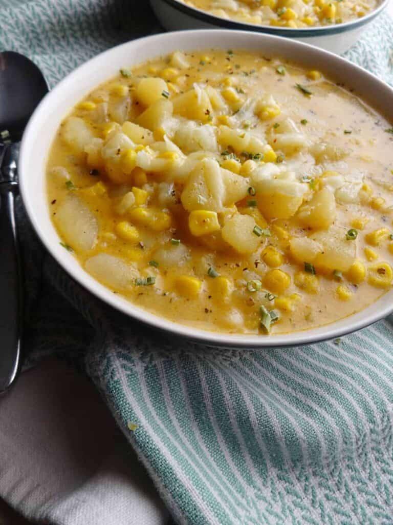 Corn Potato Chowder Recipe