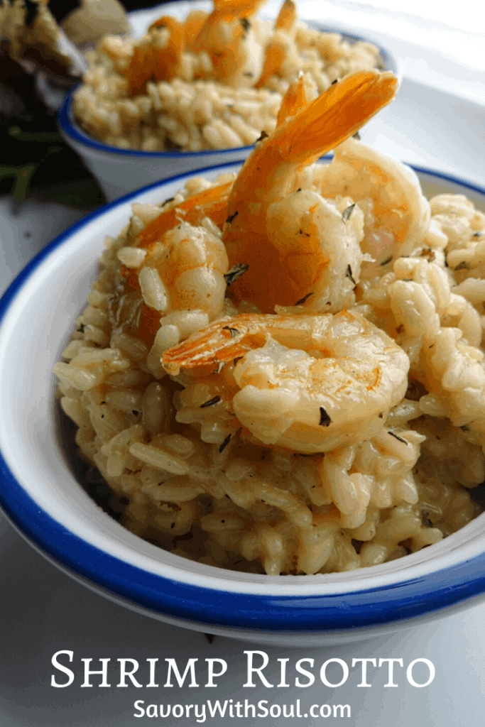 Prawn Shrimp Risotto Pin