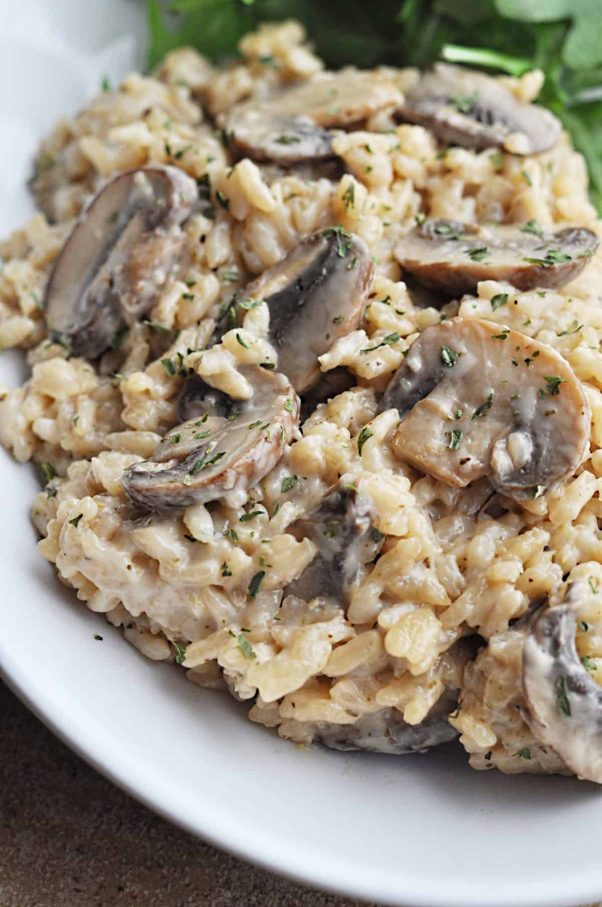 Recipe For Mushroom Risotto Creamy Mushroom Risotto Savory With Soul