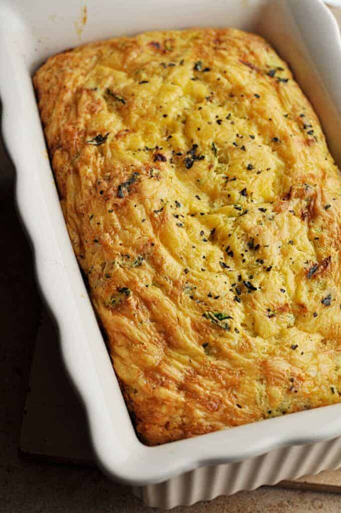 Cheddar Bread fresh from the oven