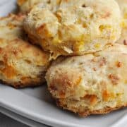 Cheese biscuits with bacon and ranch seasoning
