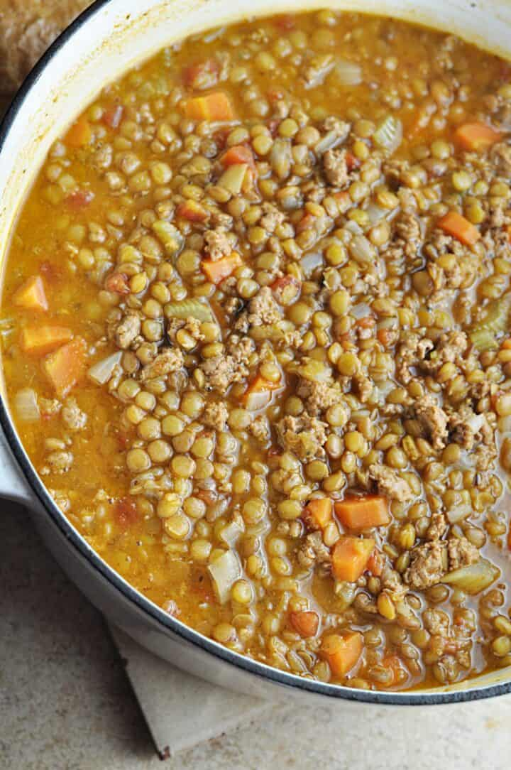 Soup ready to serve